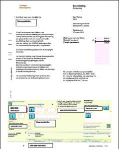 Fot.1 Wezwanie do zapłaty z Belastingdienst.