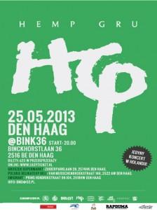 Koncert Hemp Gru w Holandii - Zmiana klubu!