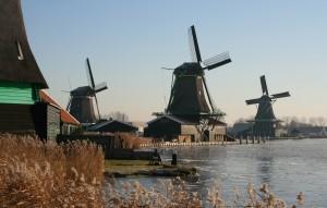 Wiatraki holenderskie