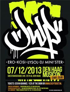 Polskie koncerty hip-hopowe wracają do Hagi! Legendarne JWP na jedynym występie w Holandii!
