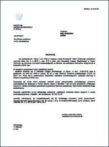 Wzór 1 Wezwanie do wykazania dochodów osiągniętych na terenie Holandii.